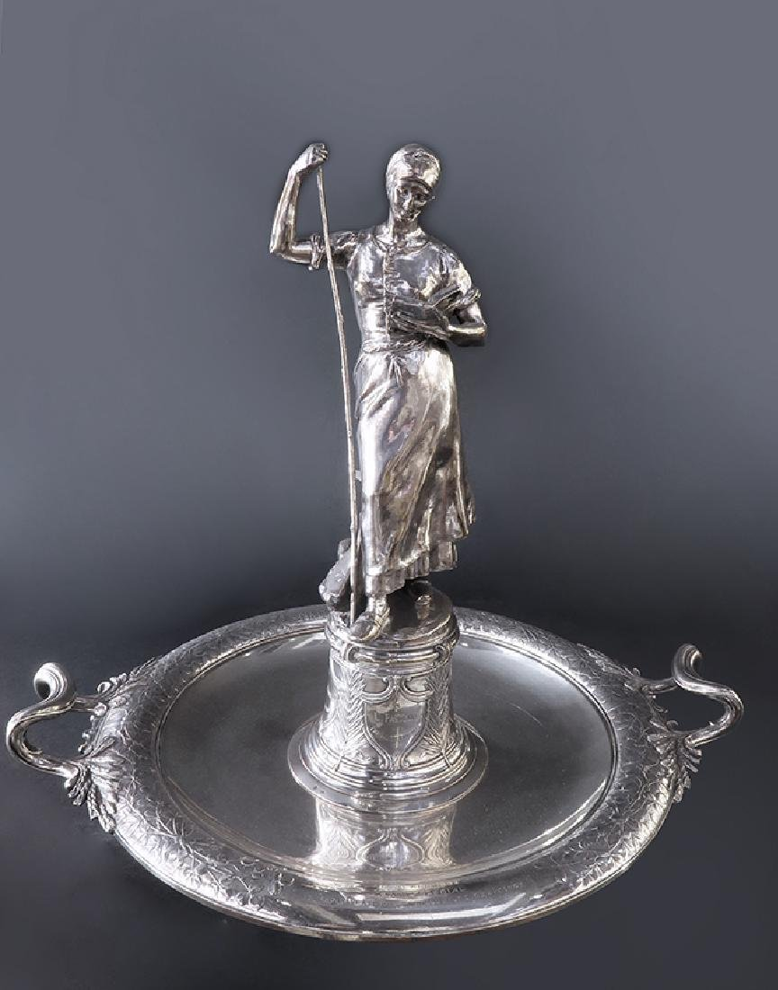 """Important """"CHRISTOFLE"""" Sterling Silver Centerpiece - 2"""