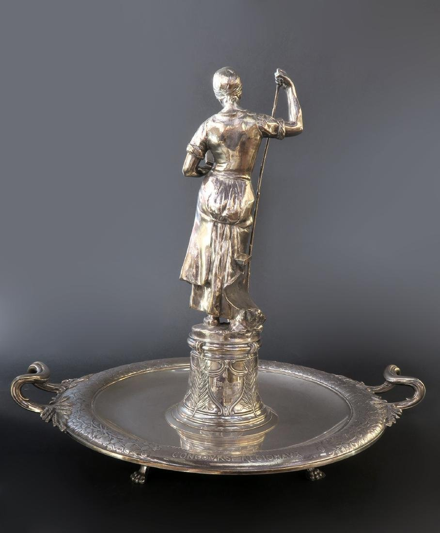 """Important """"CHRISTOFLE"""" Sterling Silver Centerpiece - 4"""