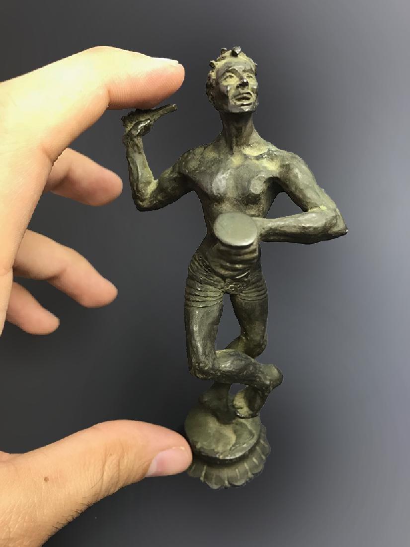 Very Rare Bronze Sculpture of Shiva