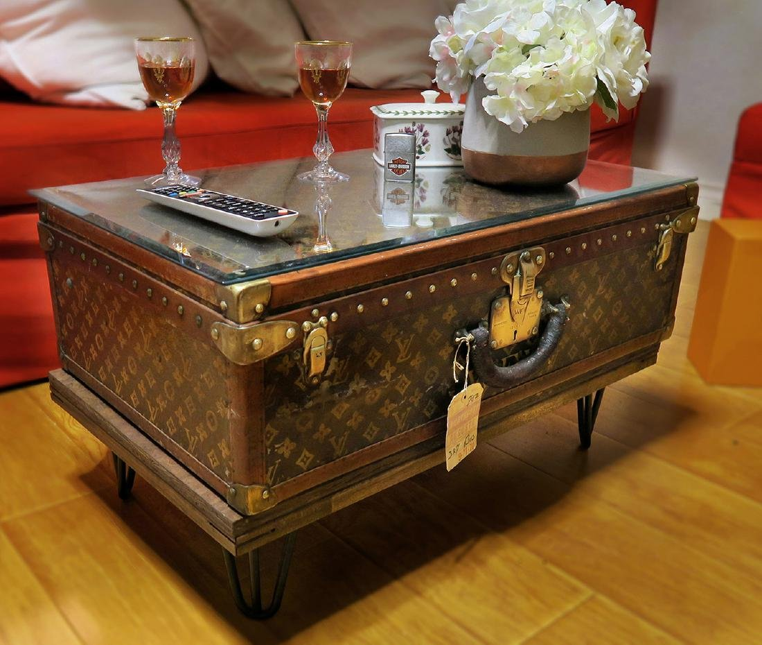 Louis Vuitton Trunk Coffee Table