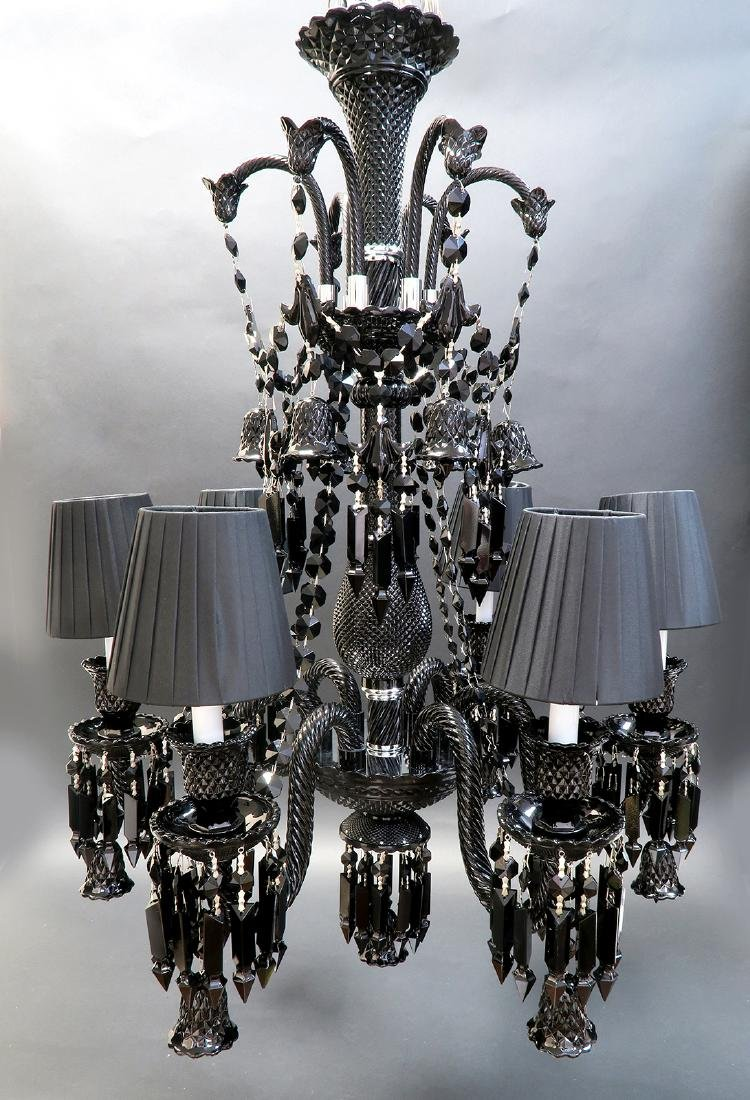 Stunning 6 Light Chandelier Probably Baccarat - 2