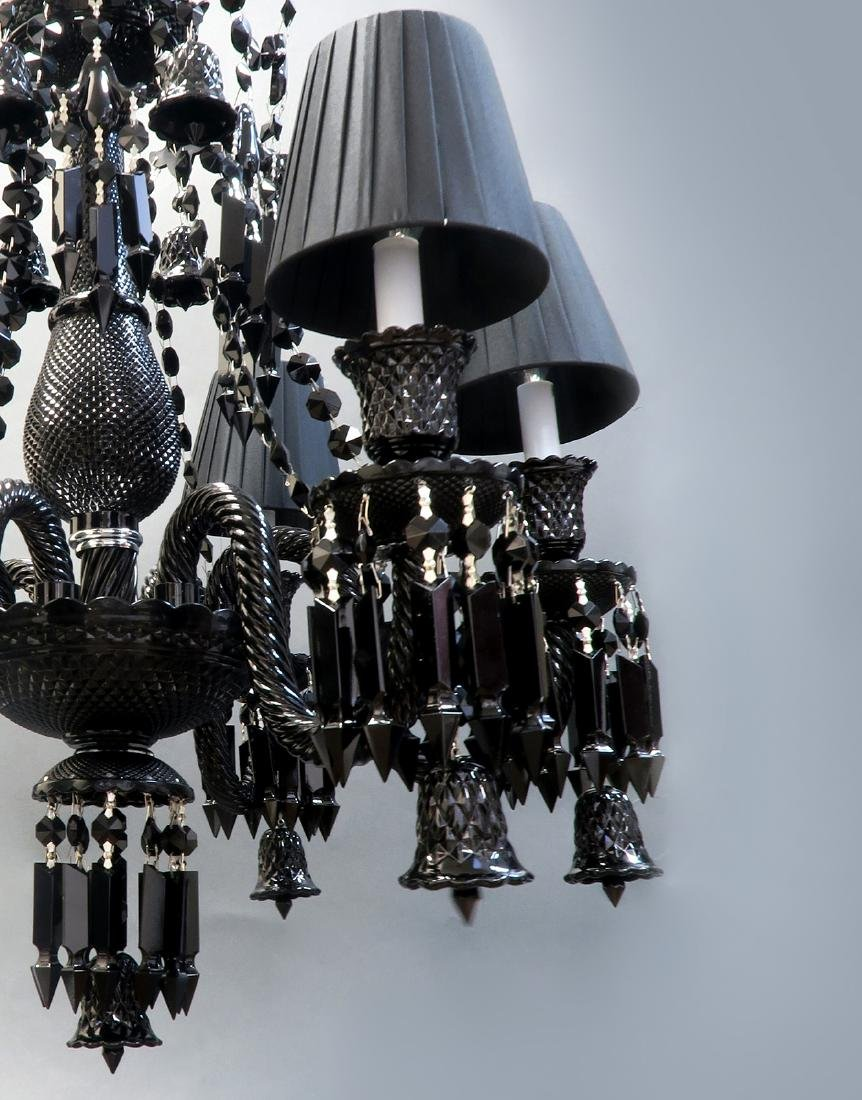 Stunning 6 Light Chandelier Probably Baccarat - 4