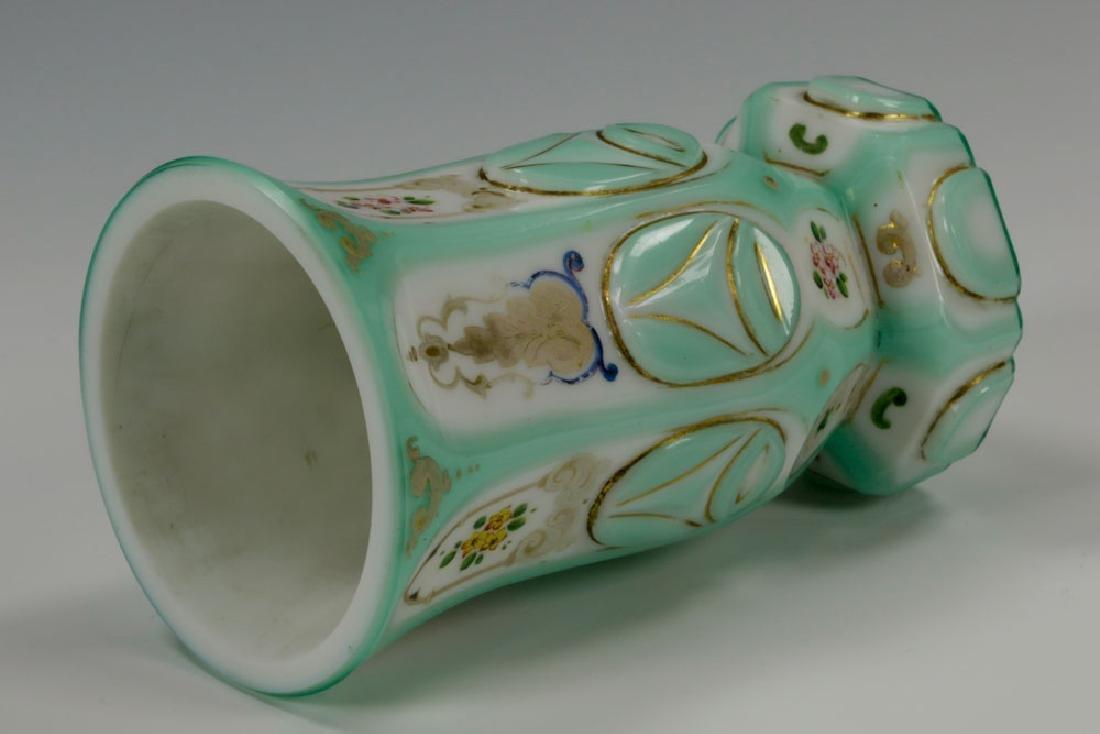 19th C. Bohemian Glass Decanter & Goblet - 5