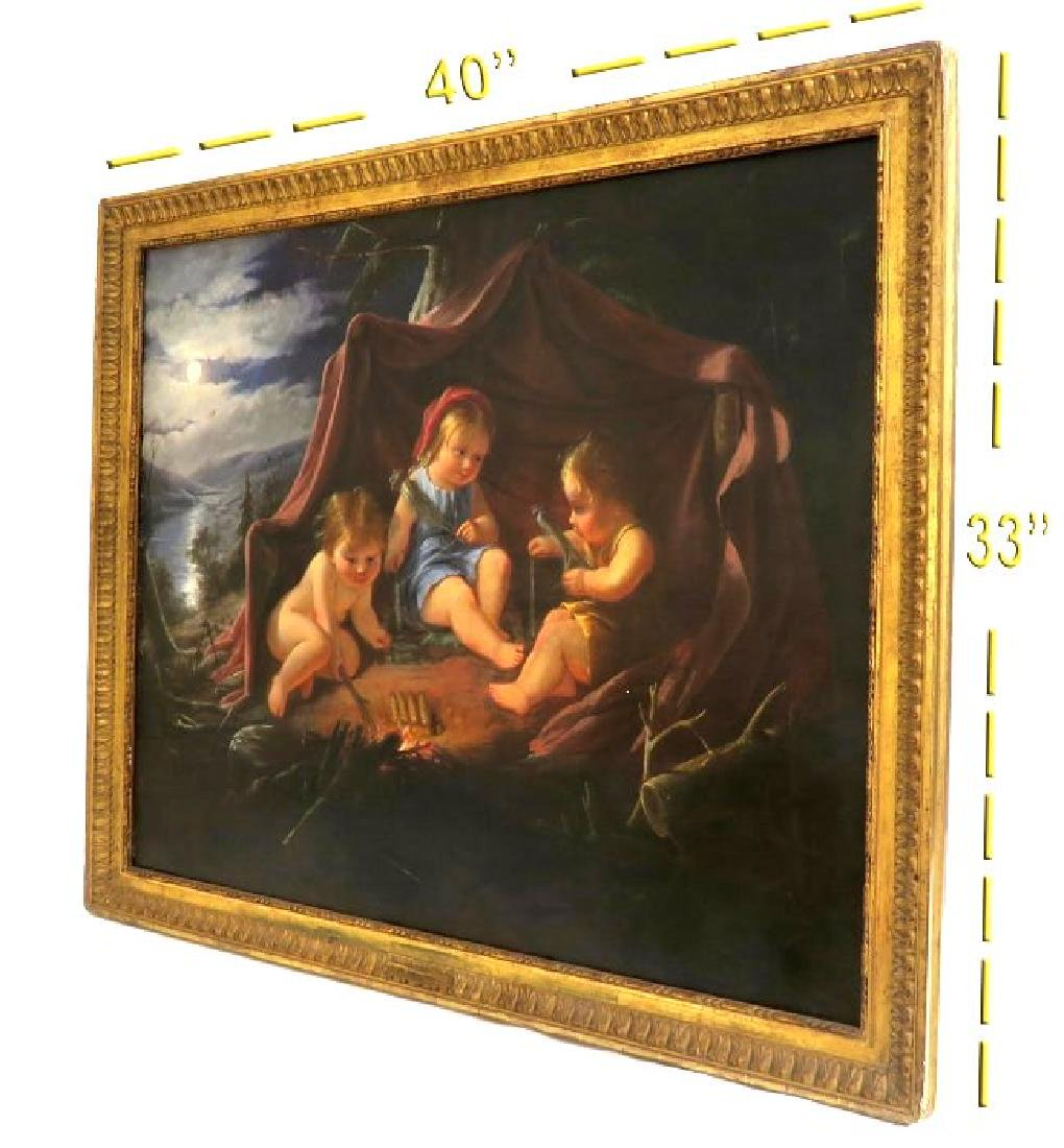 Large 18th C. Painting On Canvas by William Hamilton - 3