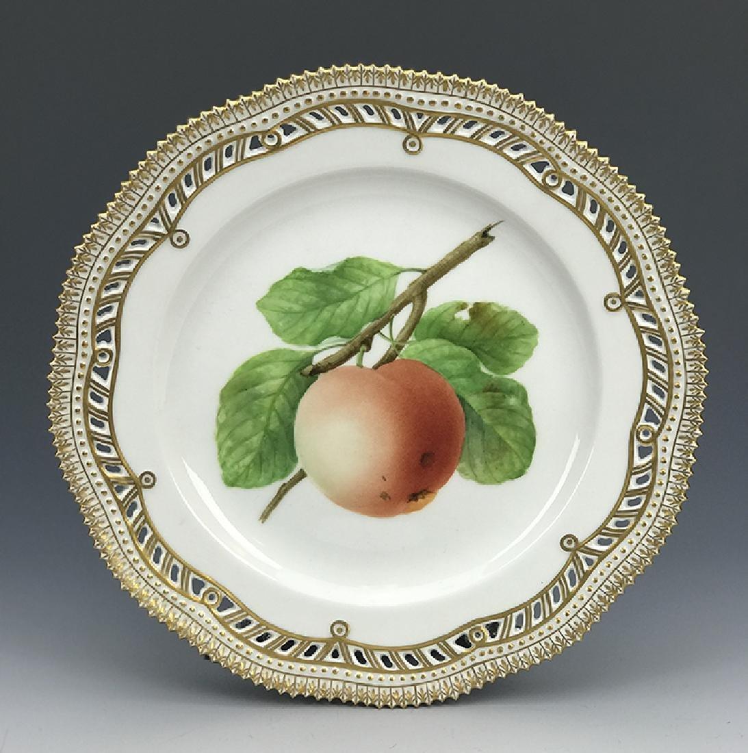 Reticulated Royal Copenhagen Flora Danica Plate