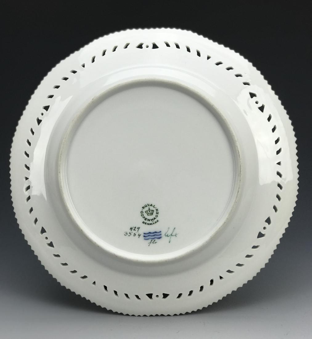 Reticulated Royal Copenhagen Flora Danica Plate - 2