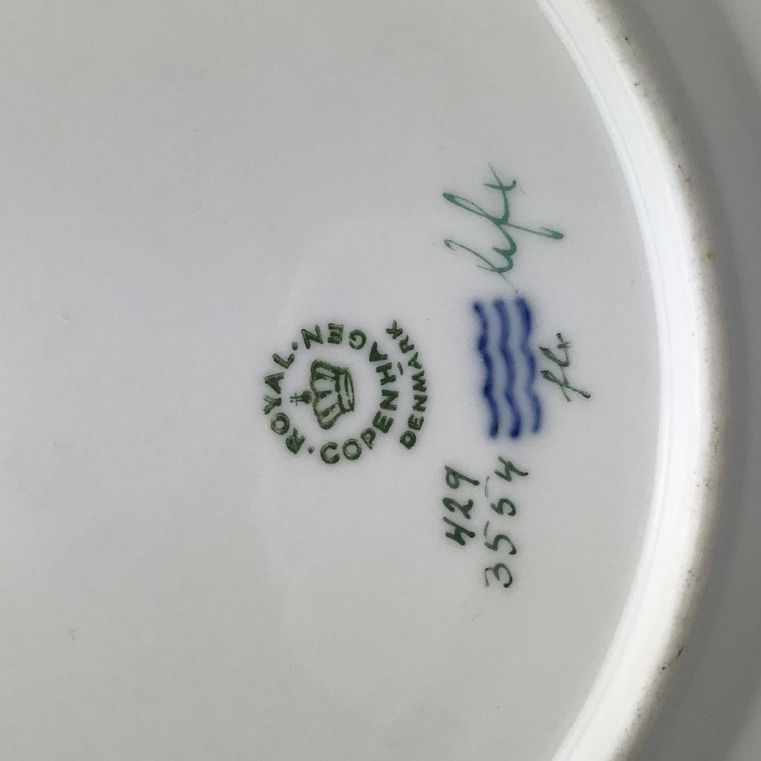 Reticulated Royal Copenhagen Flora Danica Plate - 3