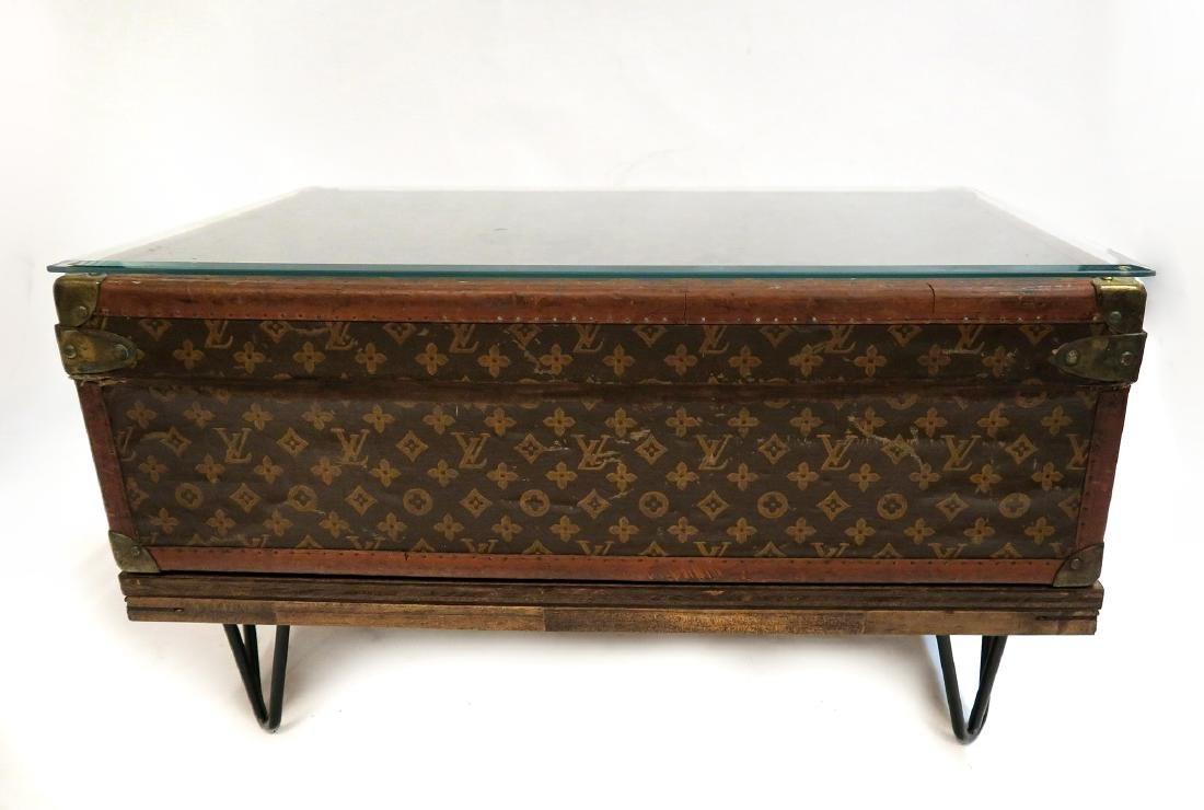 Louis Vuitton Trunk Coffee Table - 4