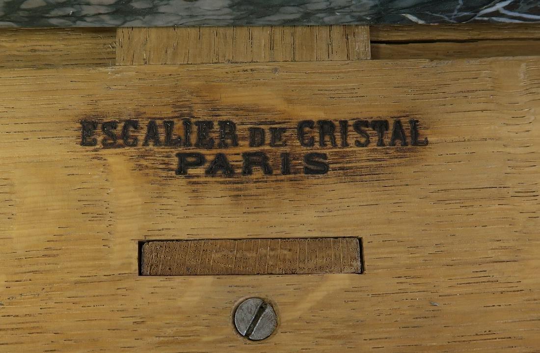 Fine French Credenza signed Escalier de Cristal - 6