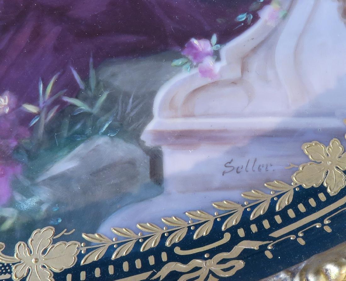 Royal Vienna Gilt wood & Porcelain Side Table - 6