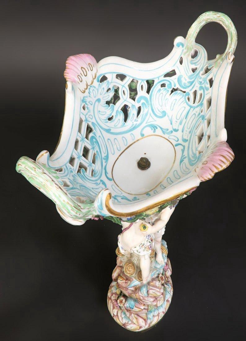 Meissen Porcelain Figural Centerpiece - 5
