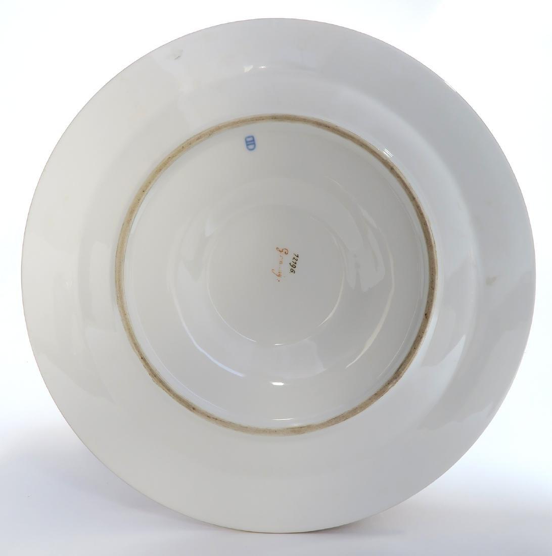 19th C. Royal Vienna Austrian Porcelain Vase On Plate - 6