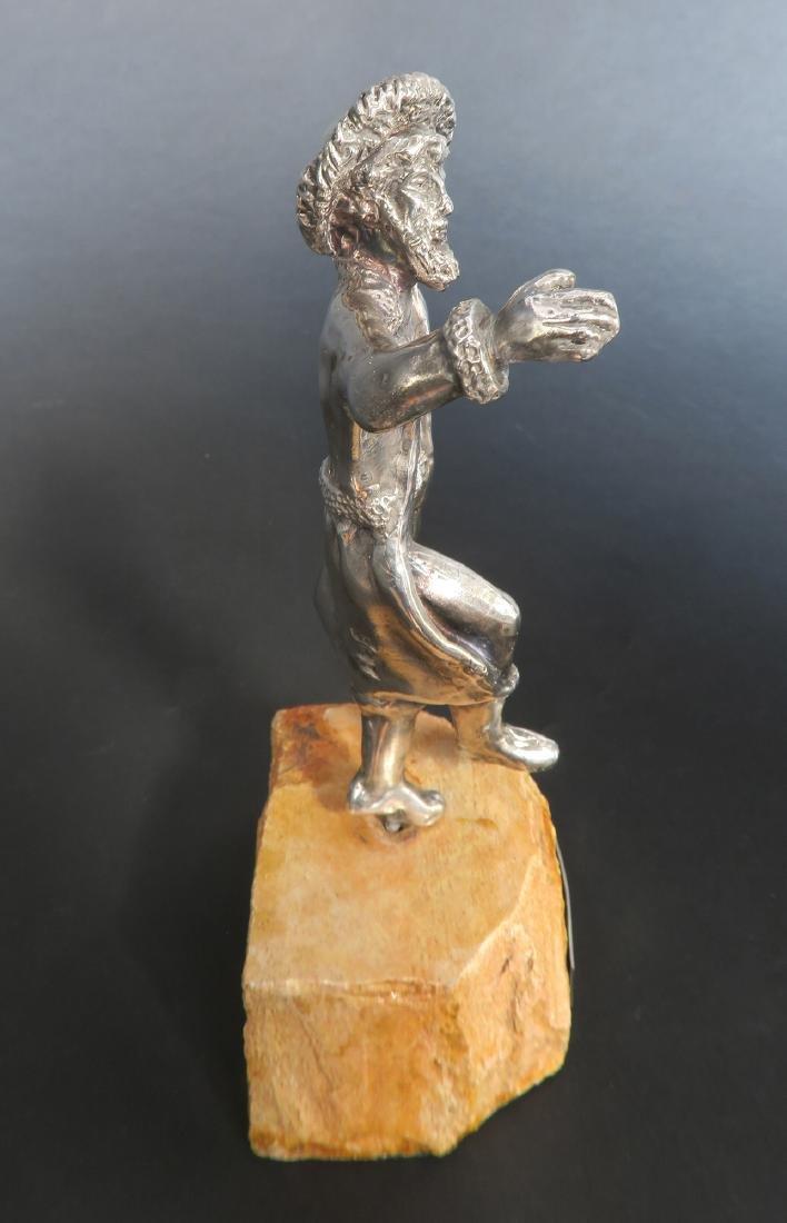 Sterling Silver Figurine of a Rabbi - 4