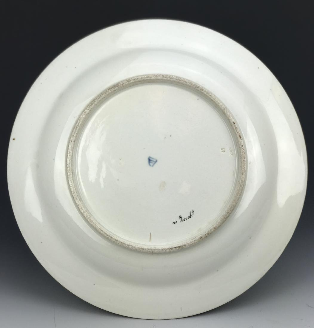 19th C. Royal Vienna Hand Painted Plate - 4