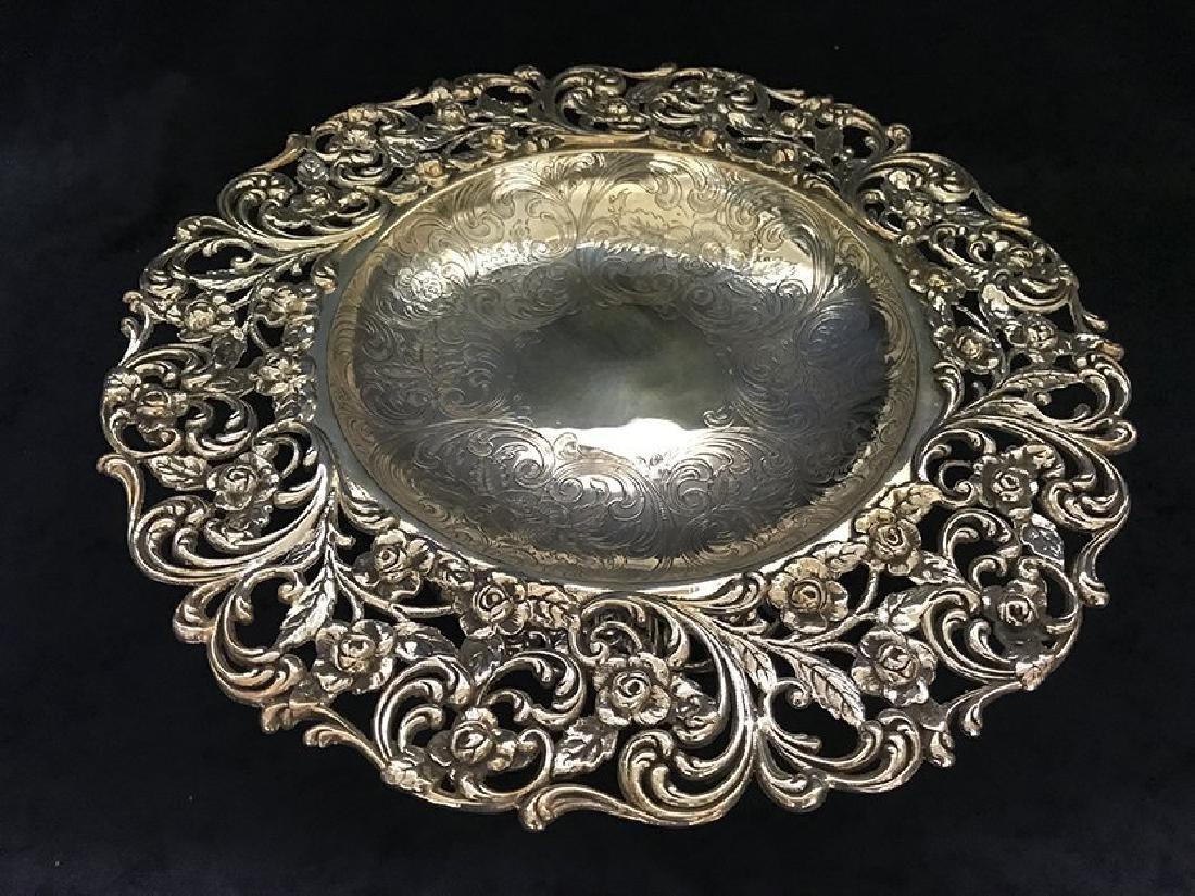 Stunning Sterling Silver Centerpiece - 2