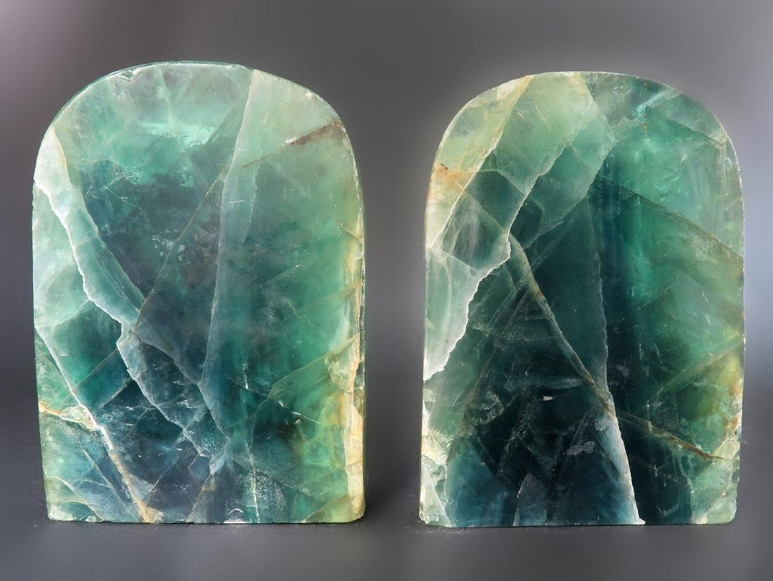"""A Pair of 17000 Carats Emerald Bookend """"GIA"""" ID Report - 6"""