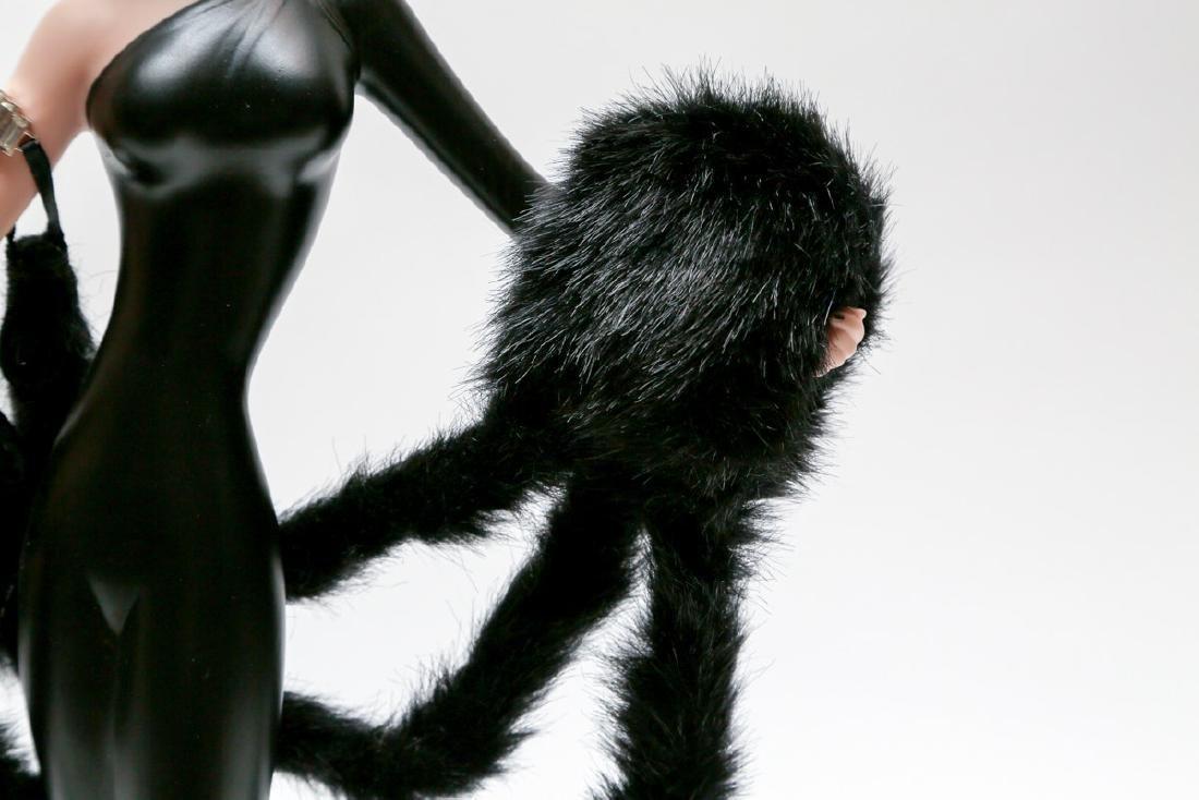 "Franklin Heirloom Doll 20"" A Symphony in Black By ERTE - 3"