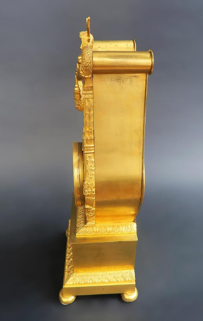 19th C French Sevres Clock Set - 7
