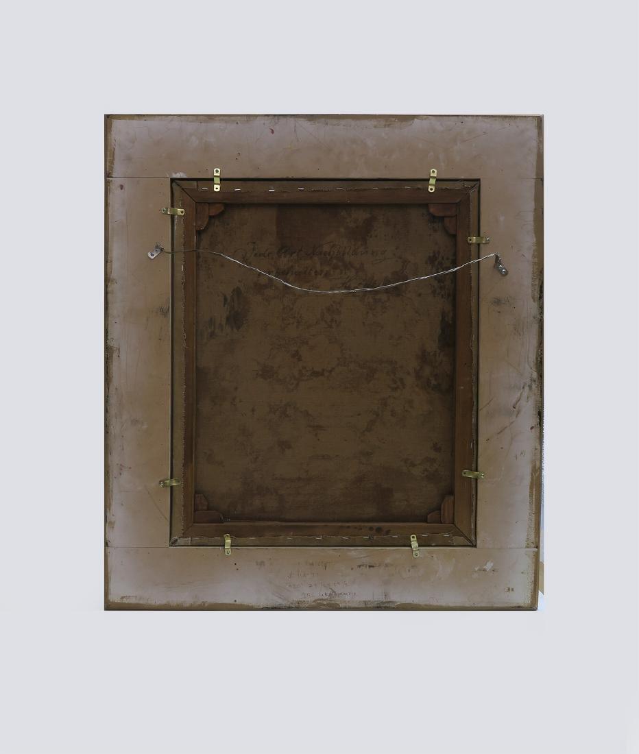 """A Still Life With Flowers"" Hans Zatzka Oil on Canvas - 5"