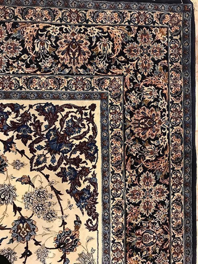 Persian Hand Made Isfahan Rug (Signed Nael) - 6