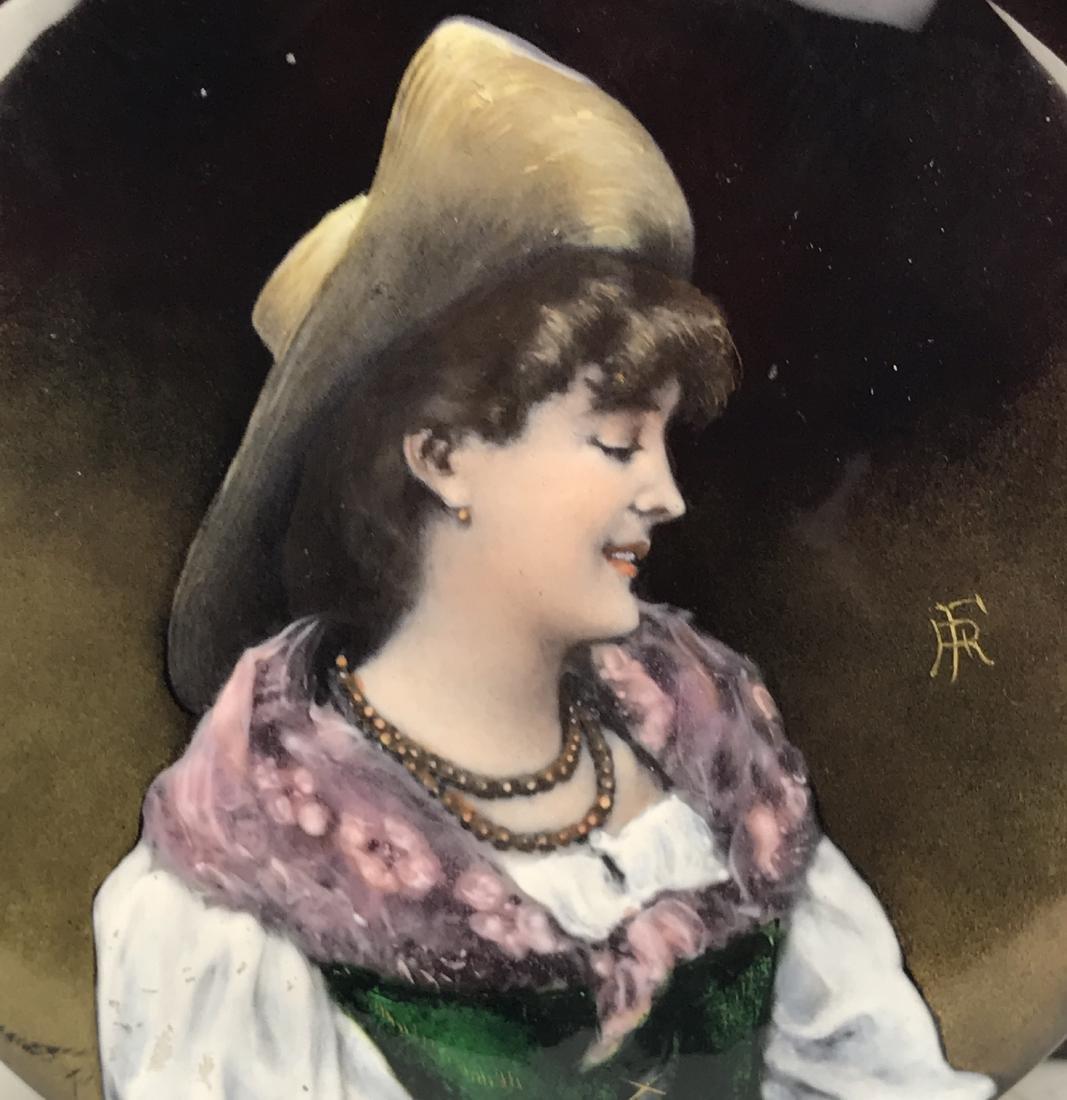 19th C. French Enamel & Crystal Jewelry Box - 3