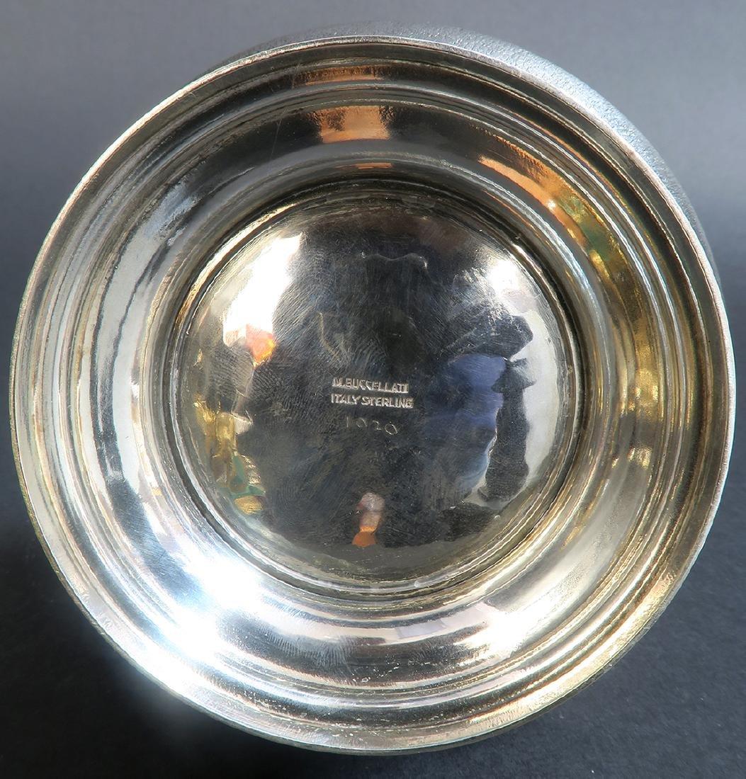 "Sterling Silver Hand Hammered \""Buccellati\"" Tea Set - 5"