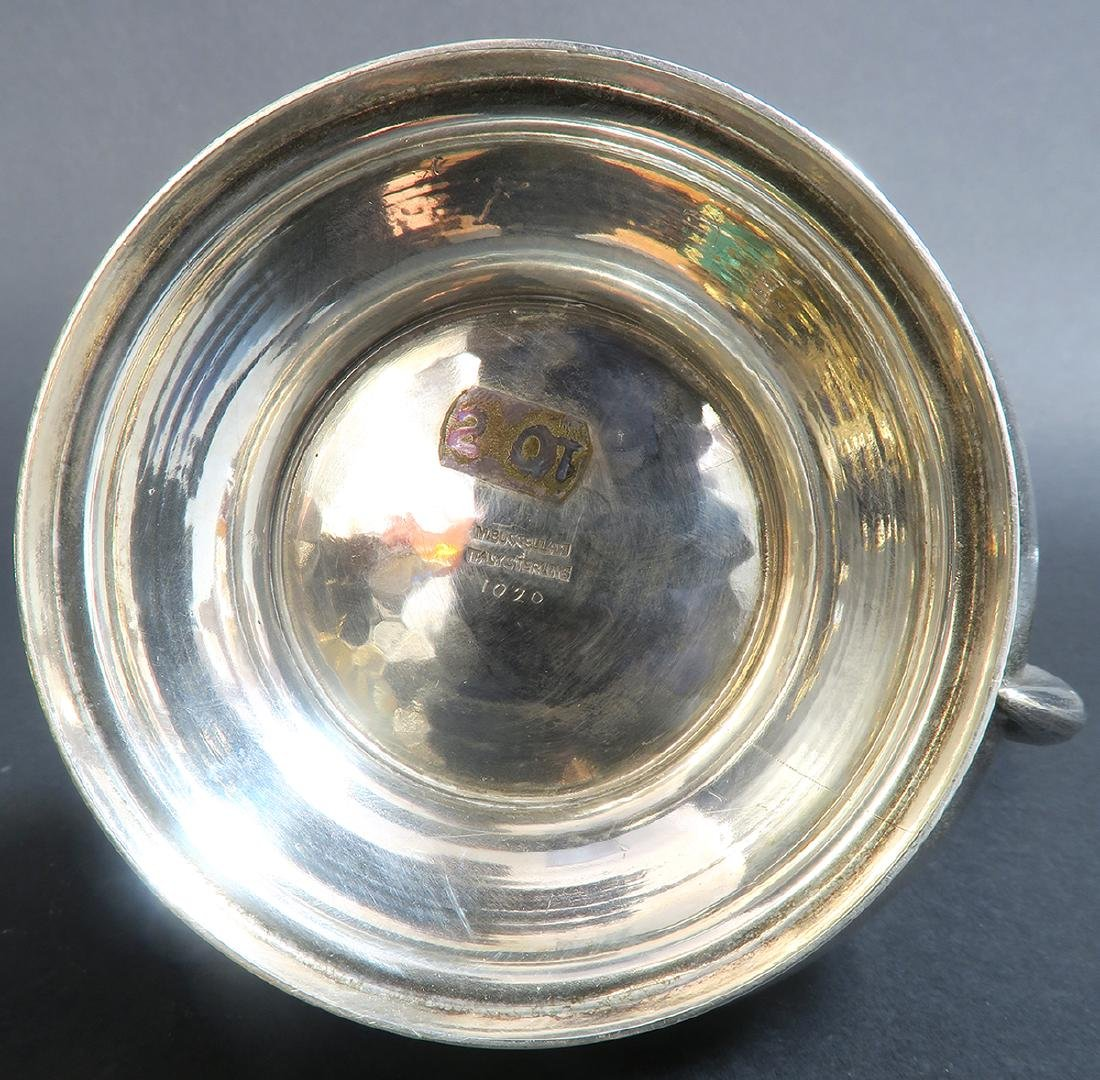 "Sterling Silver Hand Hammered \""Buccellati\"" Tea Set - 7"