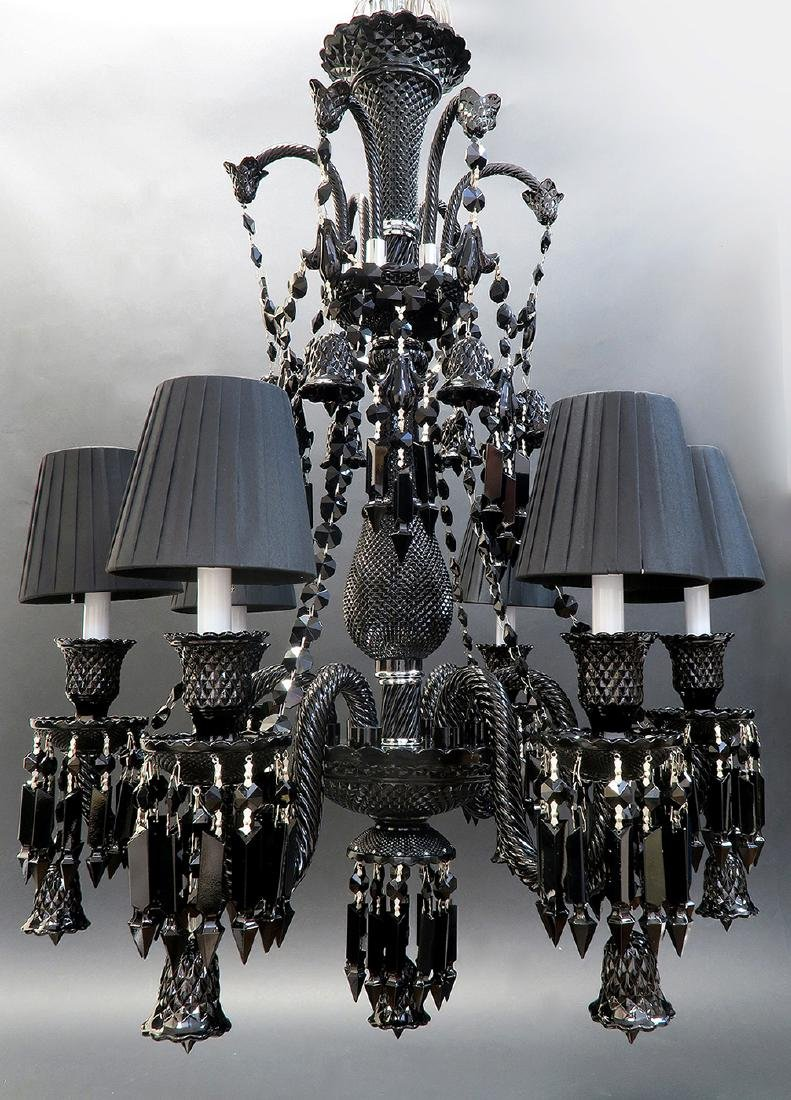 Stunning 6 Light Chandelier Probably Baccarat