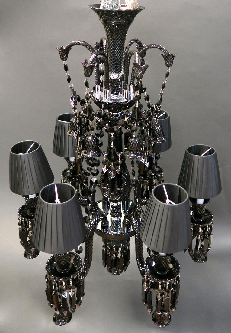 Stunning 6 Light Chandelier Probably Baccarat - 5