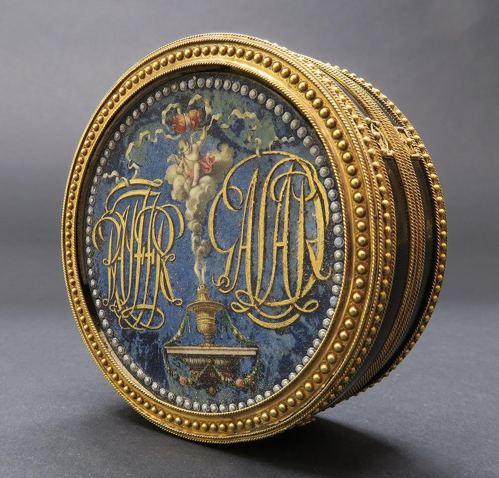 Important French 18th C. Snuff Box