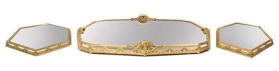 A French Gilt Bronze Surtout de Table