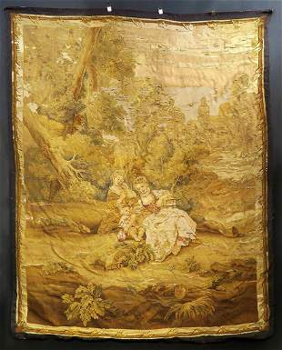 Museum Quality 18th C. French Tapestry