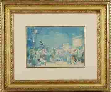 EVERETT SHINN (american 1876-1953) Painting