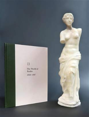 19th C Continental Marble Sculpture of Venus de Milo