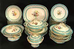 English Porcelain Dinner Service 34 pieces
