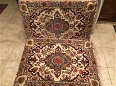 Persian Handmade Rugs Converted to Pillows (Poshti)