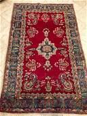 Semi-Antique Persian Rug, Kerman