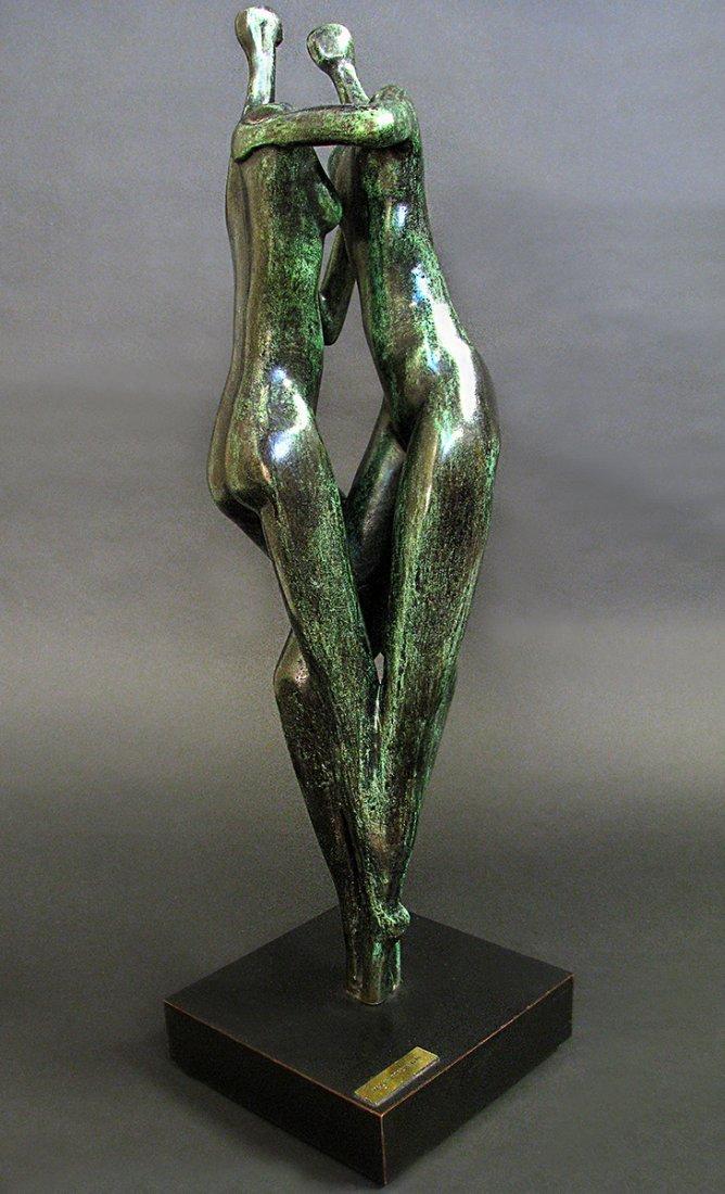 Modern Bronze Sculpture designed by Malka Rosenstein - 2