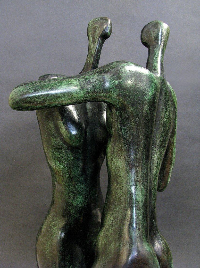 Modern Bronze Sculpture designed by Malka Rosenstein - 5
