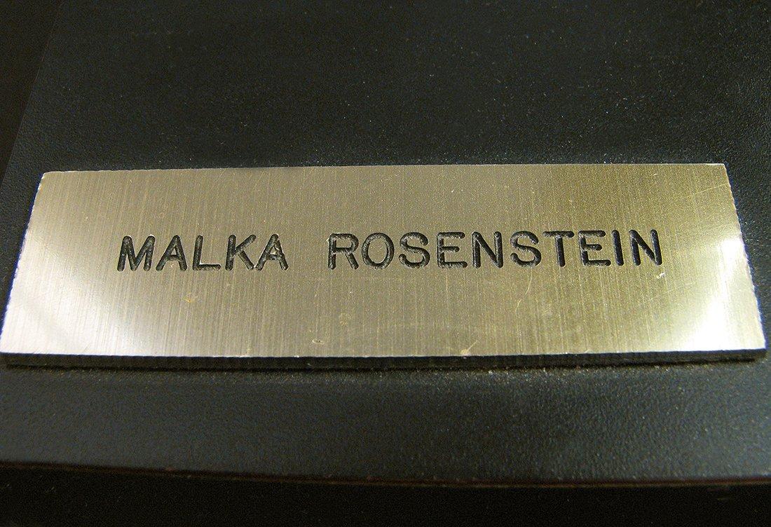 Modern Bronze Sculpture designed by Malka Rosenstein - 8