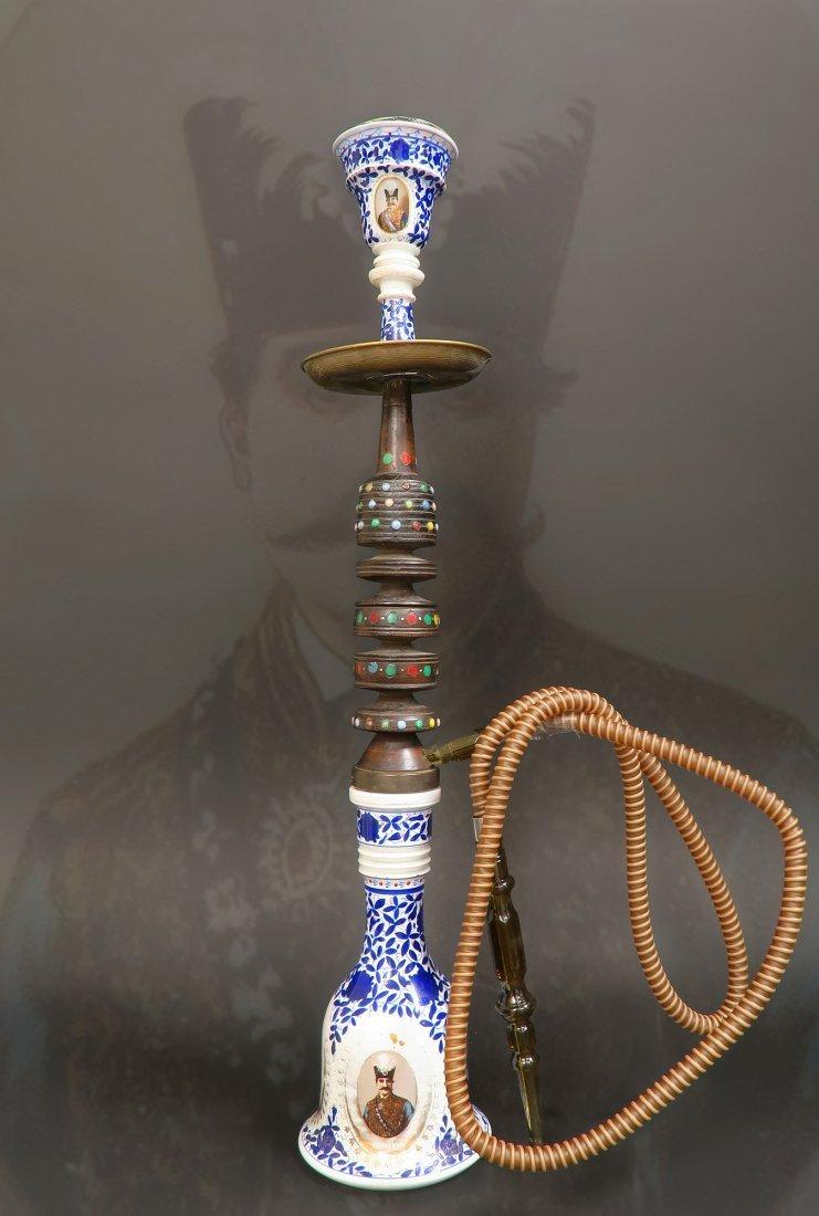 19th C. Persian Qajar Hookah