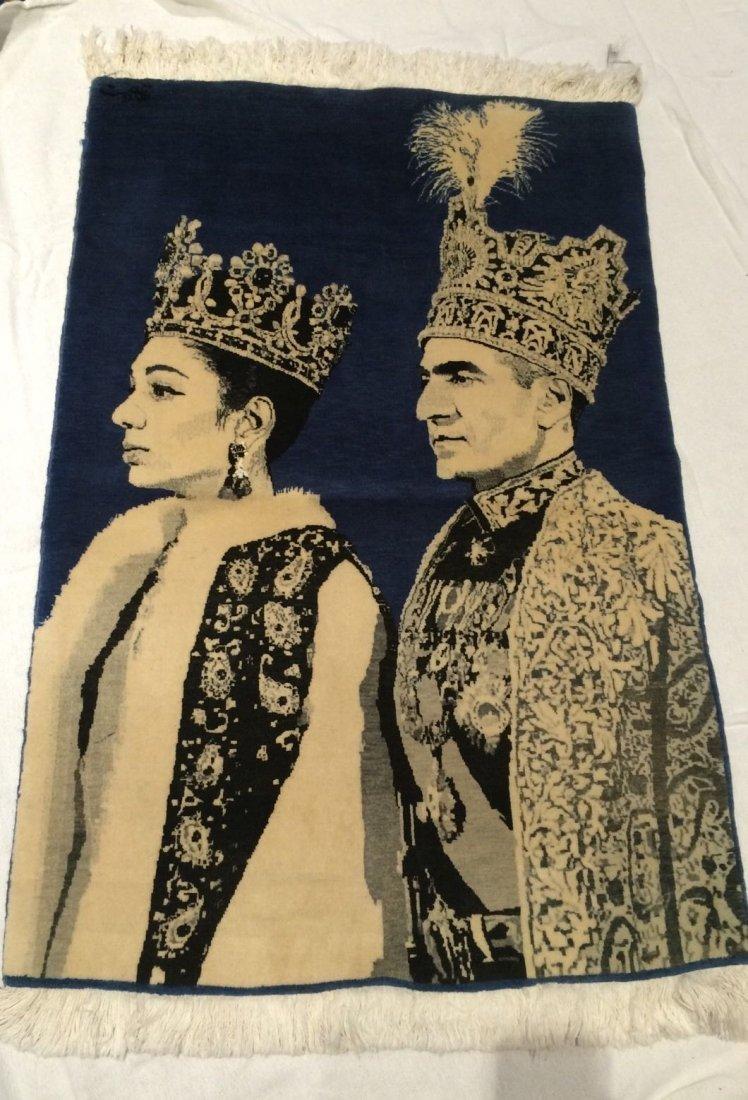 Tabriz Pictorial Shah and Farah Coronation (Tajgozary)