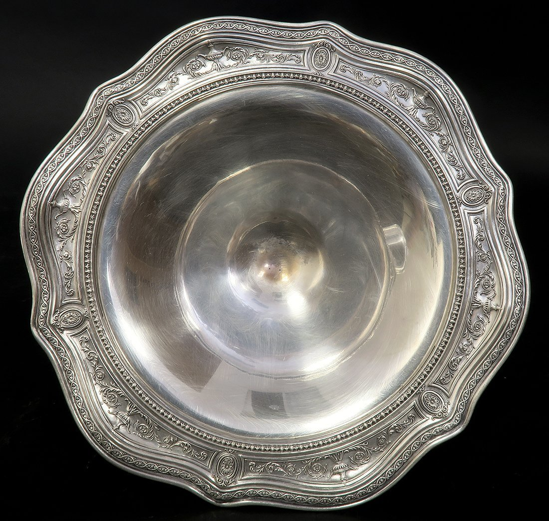 A Beautiful Pair Of Sterling Silver Candy Bowl - 6