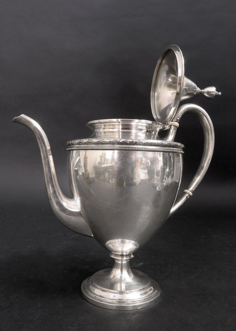 A Set of San Francisco Sterling Silver Tea Set - 2