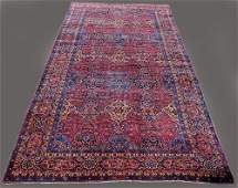 Large 1920s Authentic OCM Signed Persian Kerman Rug