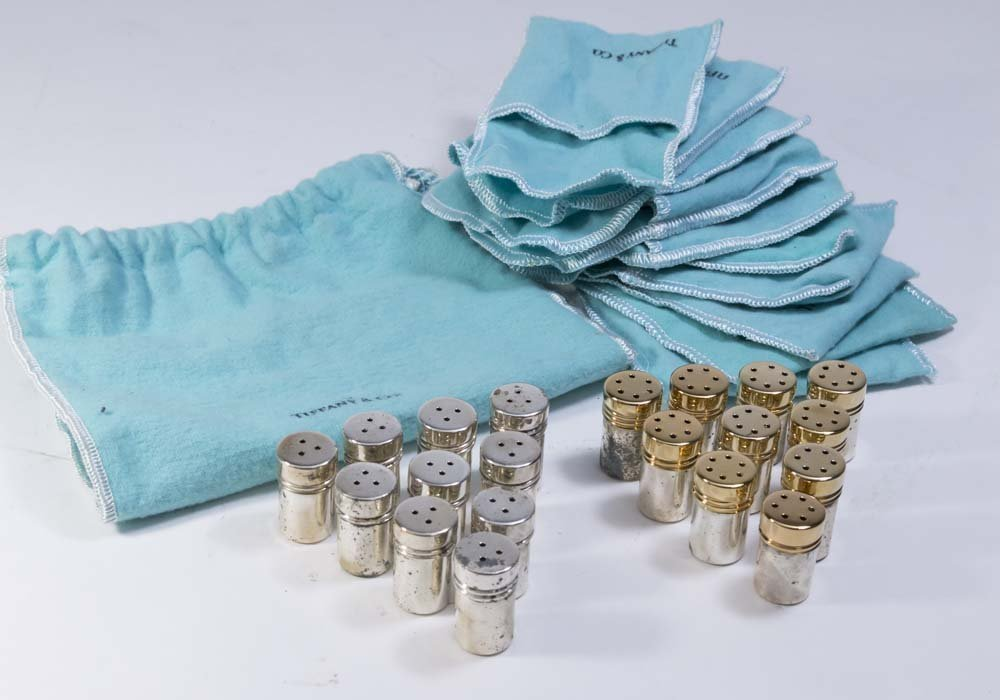 20 Pieces Tiffany & Co. Sterling Silver