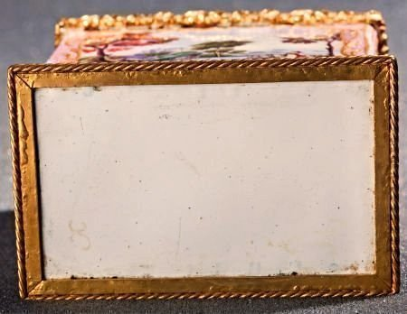 A French Enamel and Gilt Bronze Box, late 19th c - 2