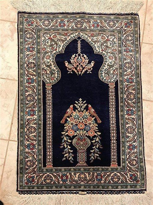 Hereke Silk Rug Placeholder See Sold Price
