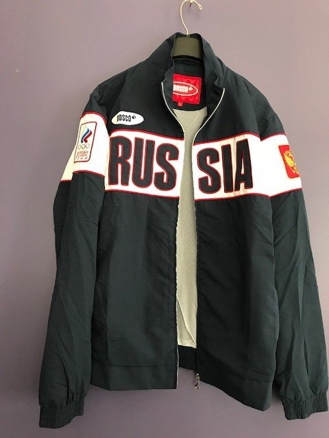 Russian Olympic Team Uniform Hooded Jacket