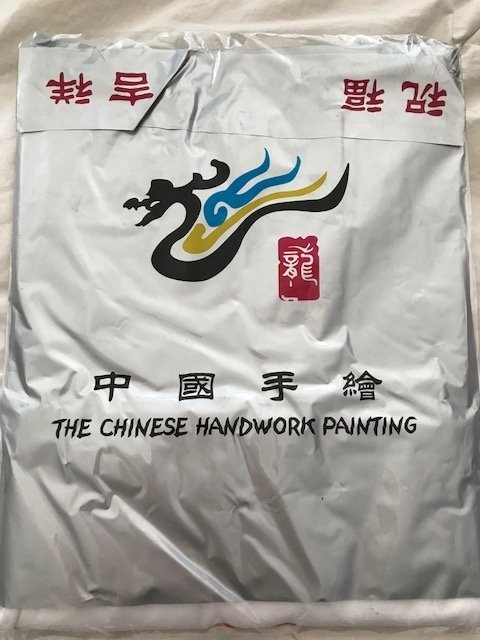 Chinese Hand Painted Olympic 2008 T-shirt - 2